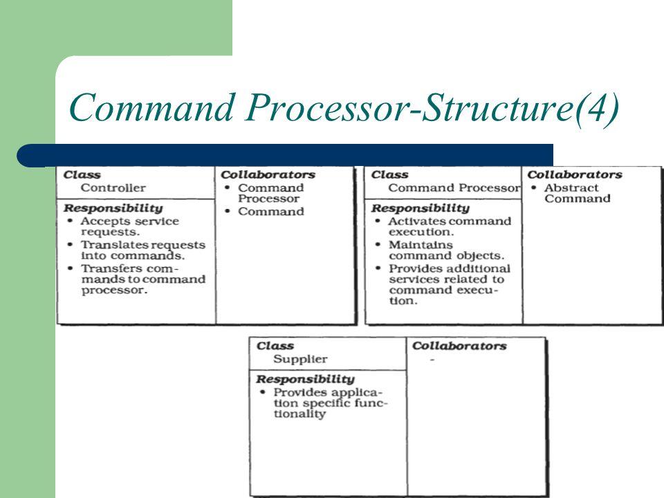 Command Processor-Structure(4)