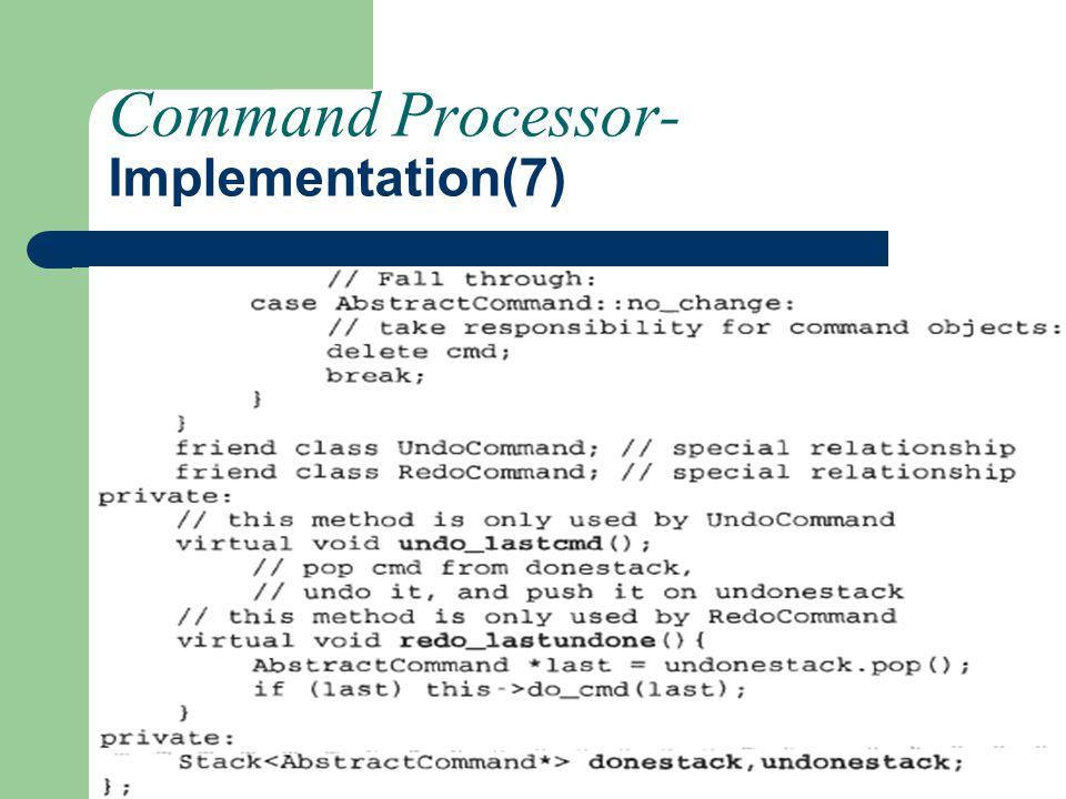 Command Processor-Implementation(7)