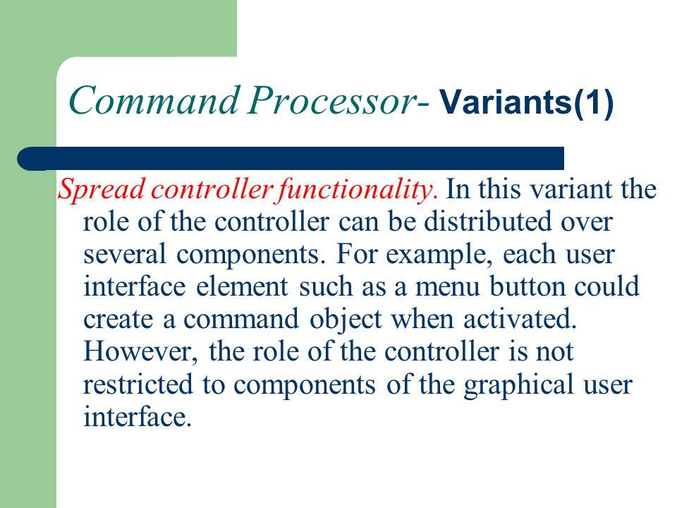 Command Processor- Variants(1)