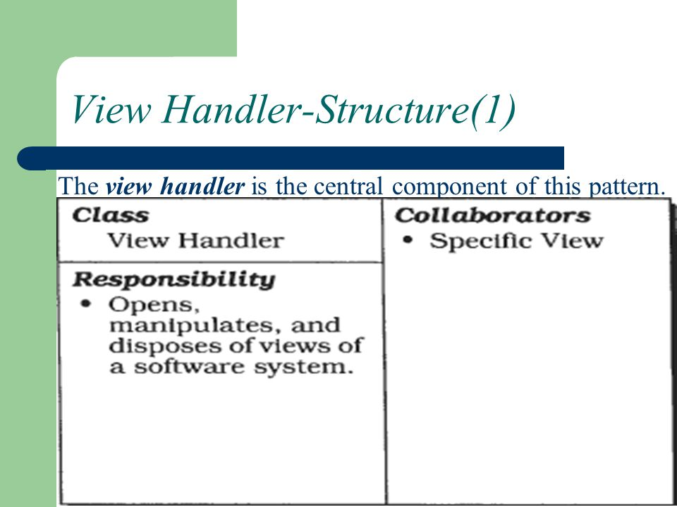 View Handler-Structure(1)