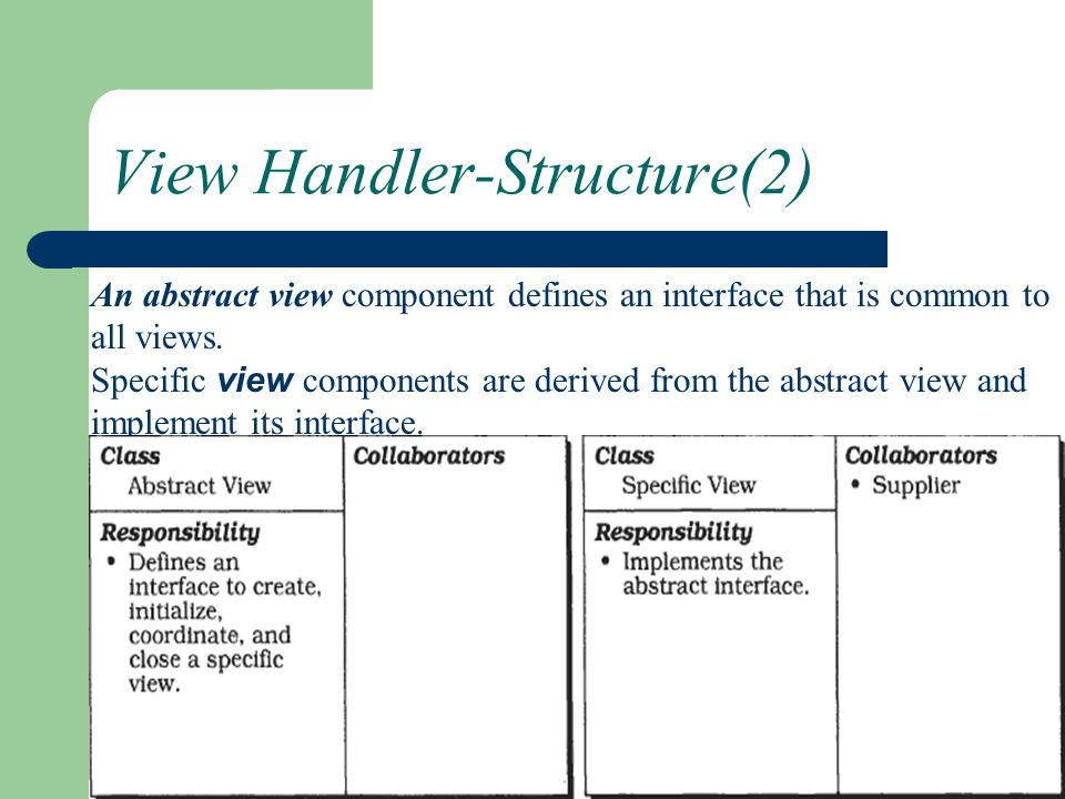 View Handler-Structure(2)