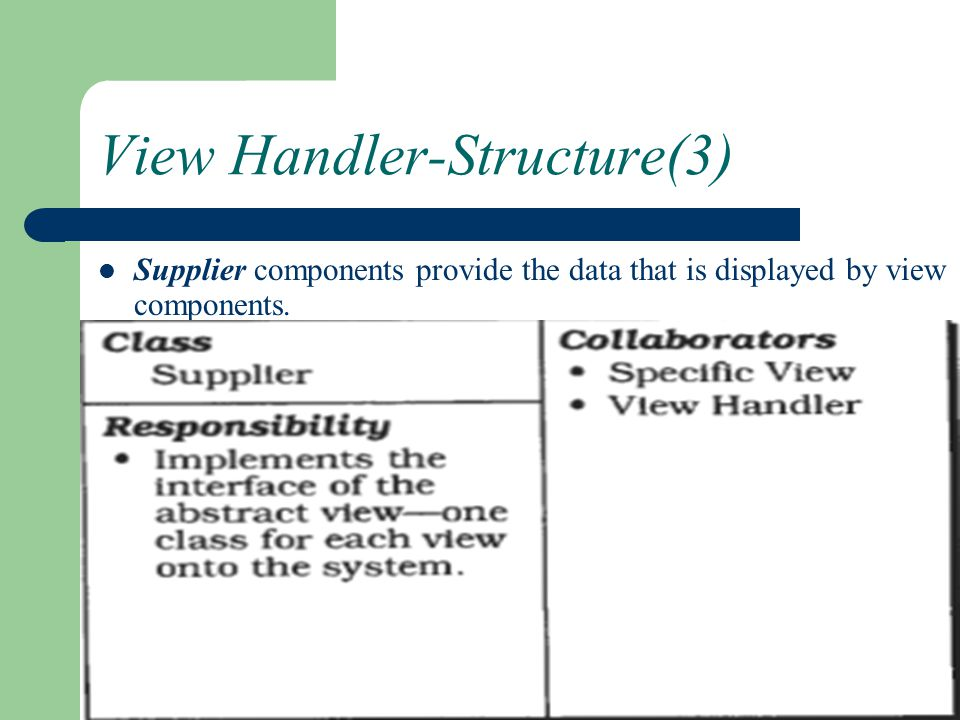 View Handler-Structure(3)
