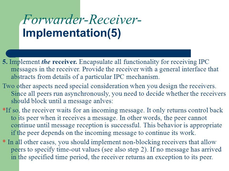 Forwarder-Receiver- Implementation(5)