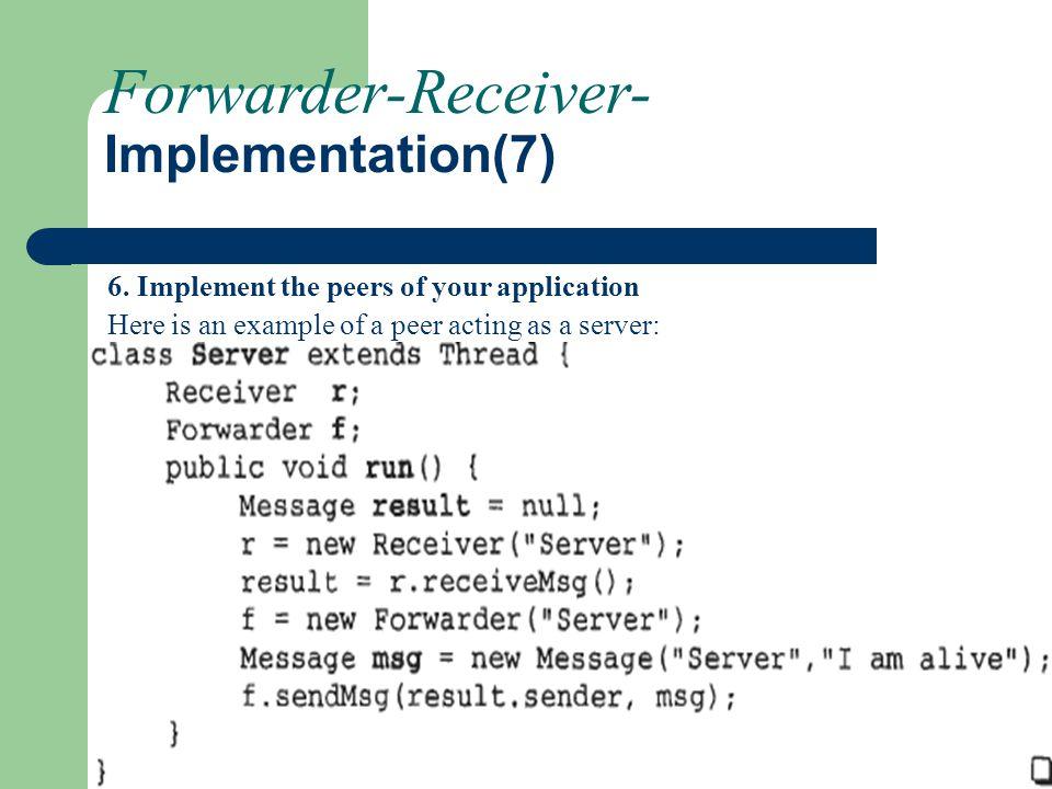 Forwarder-Receiver- Implementation(7)