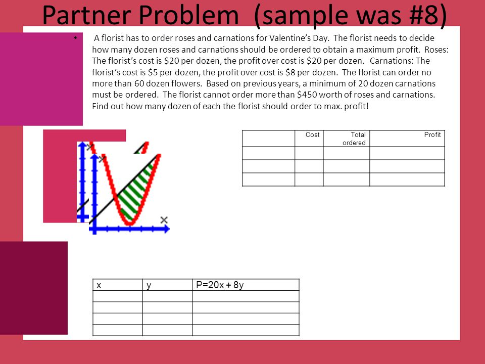 Partner Problem (sample was #8)