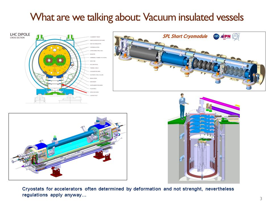 What are we talking about: Vacuum insulated vessels