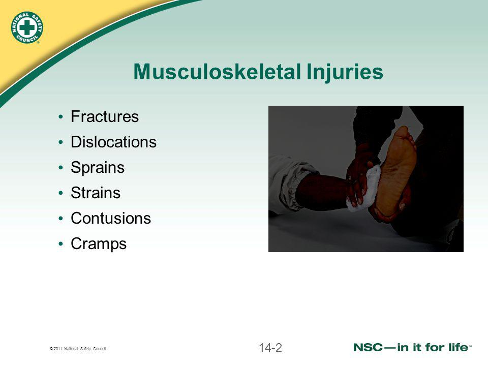 Musculoskeletal Injuries