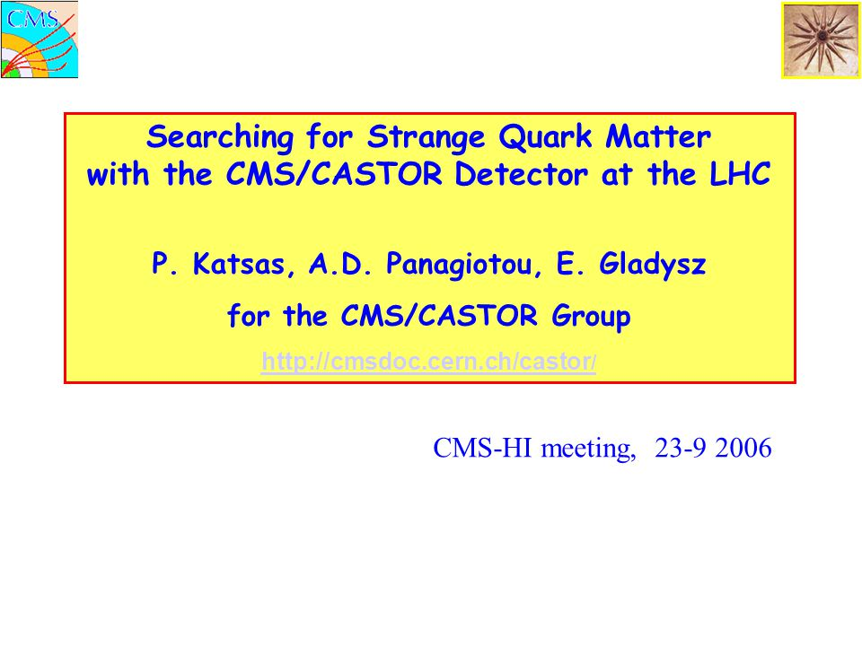 Searching for Strange Quark Matter