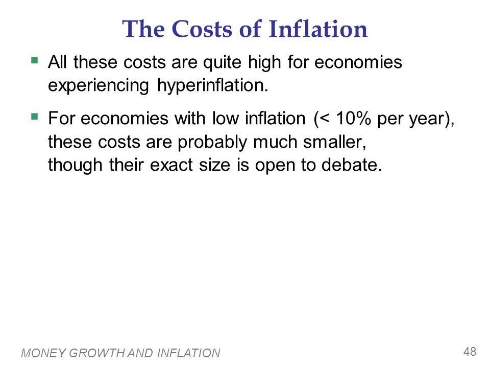 CONCLUSION This chapter explains one of the Ten Principles of economics: Prices rise when the govt prints too much money.