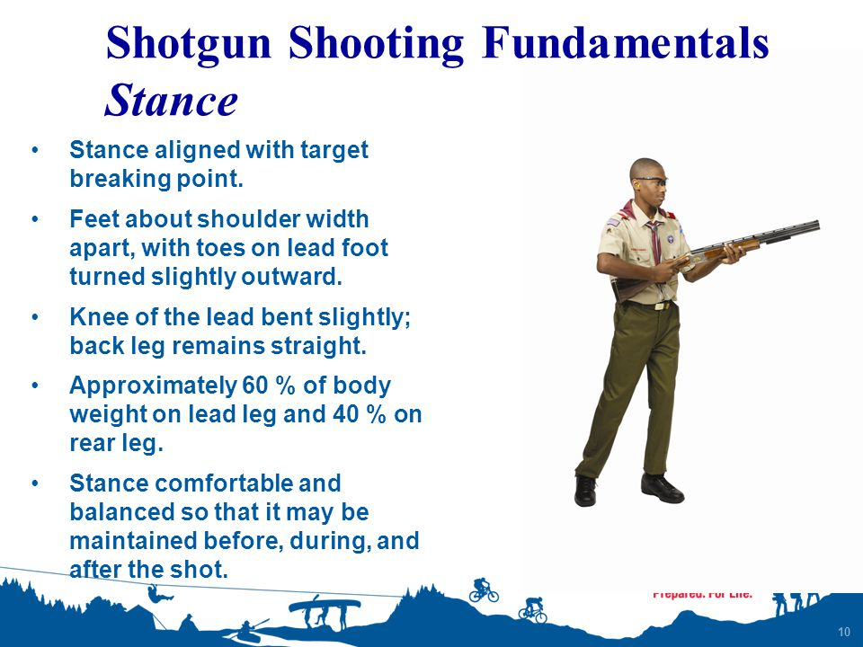 Shotgun Shooting Fundamentals Stance