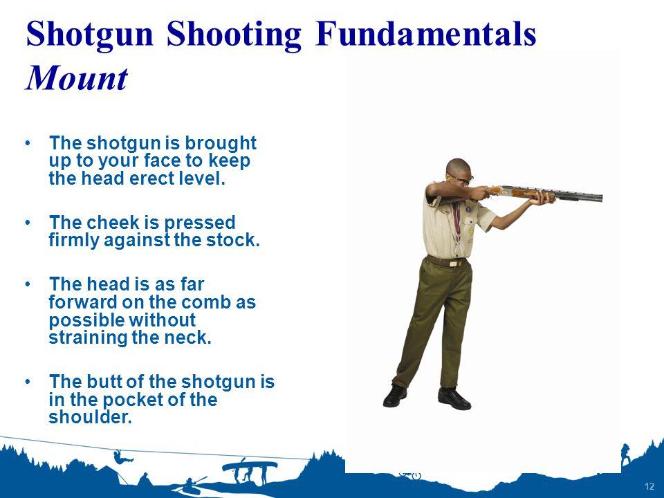 Shotgun Shooting Fundamentals Mount