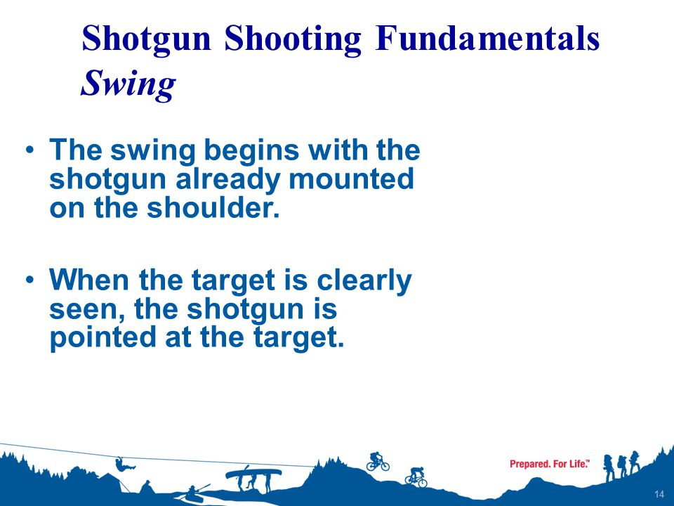 Shotgun Shooting Fundamentals Swing