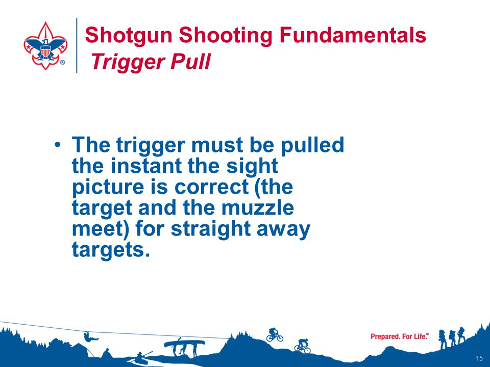 Shotgun Shooting Fundamentals Trigger Pull