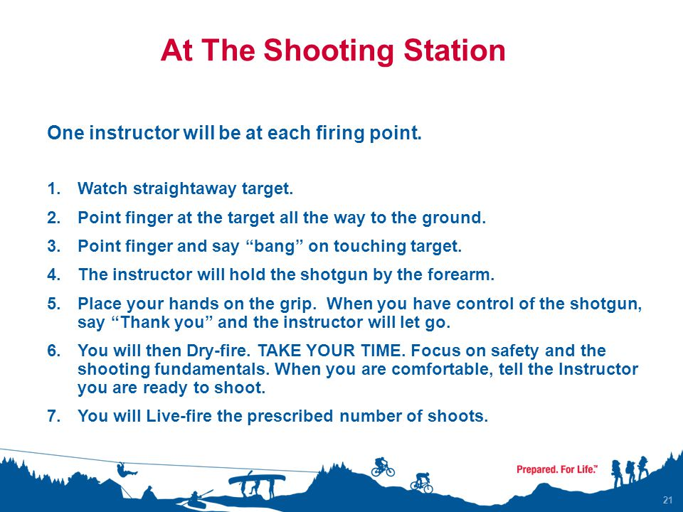 At The Shooting Station