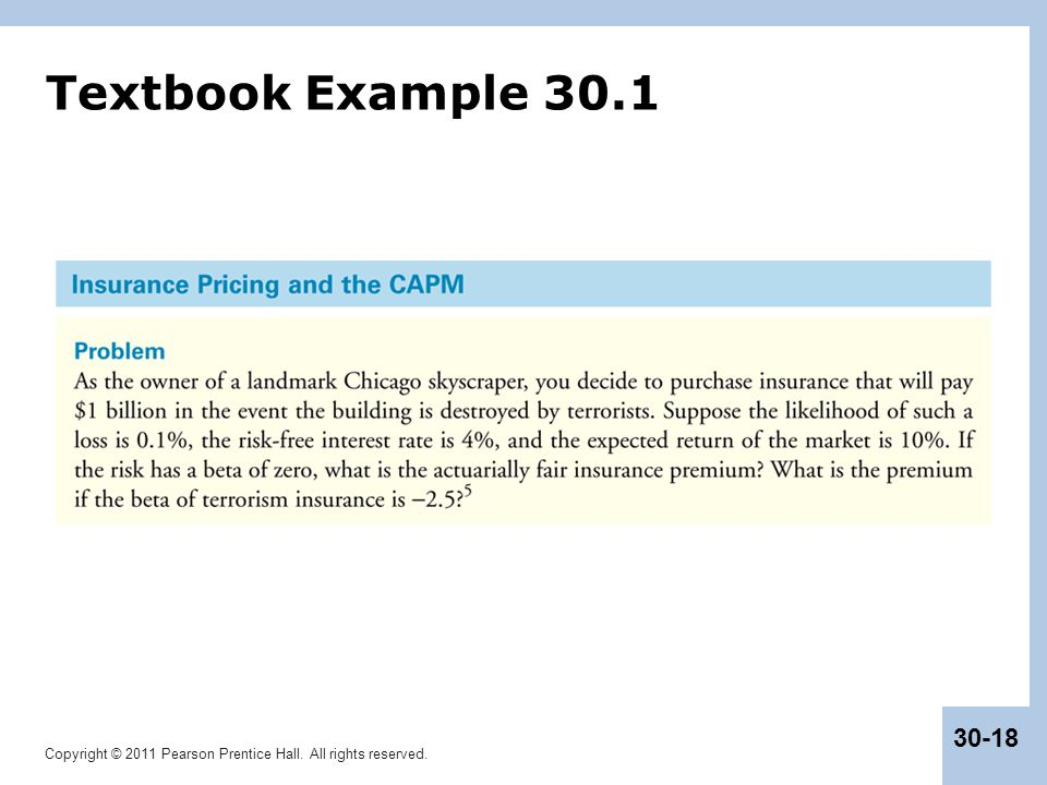 Textbook Example 30.1