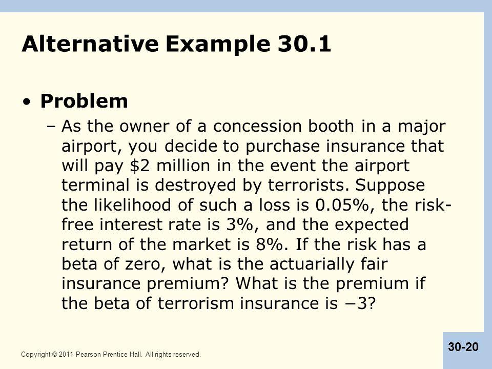 Alternative Example 30.1 Problem