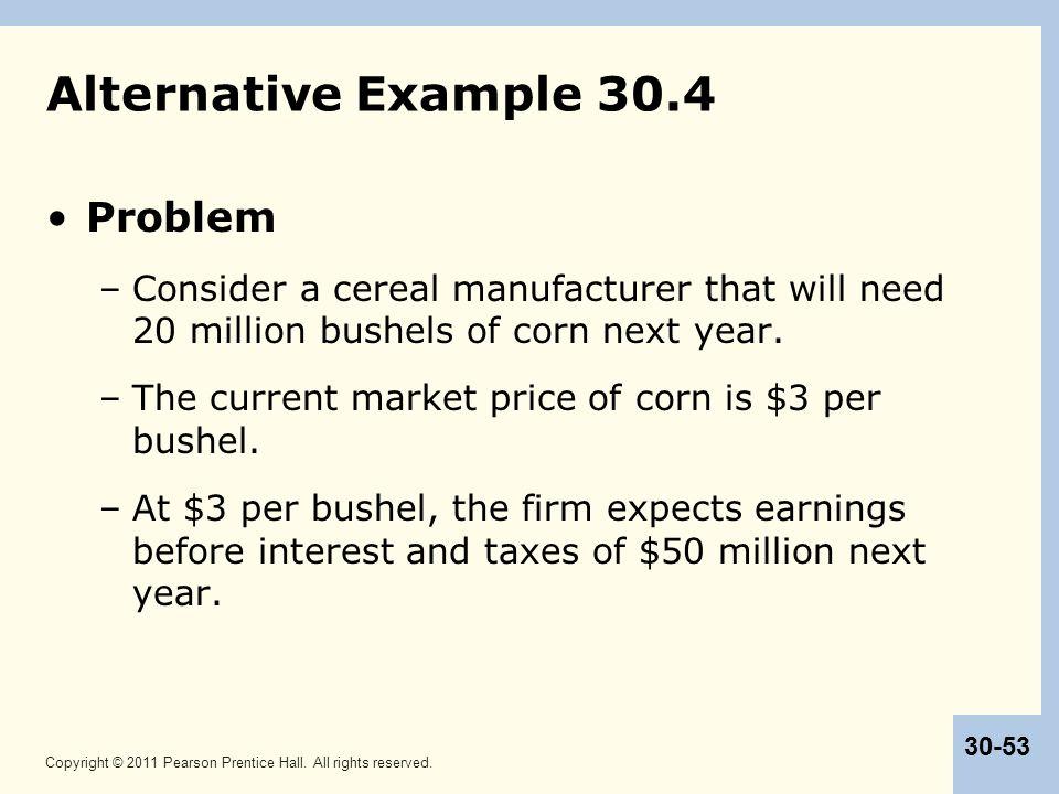 Alternative Example 30.4 Problem
