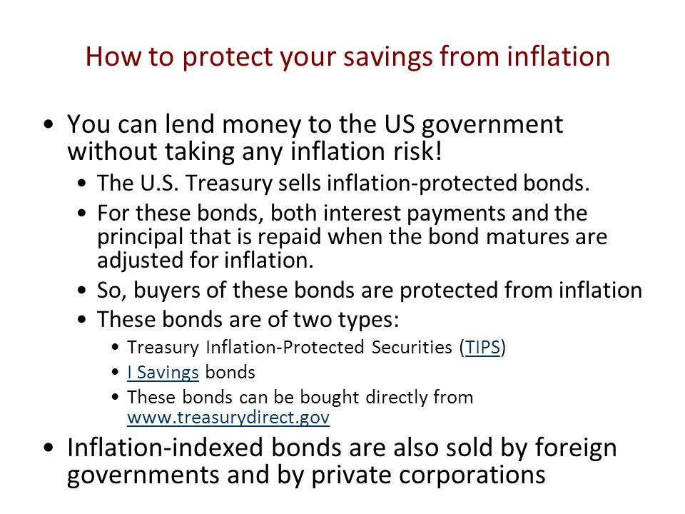 How to protect your savings from inflation