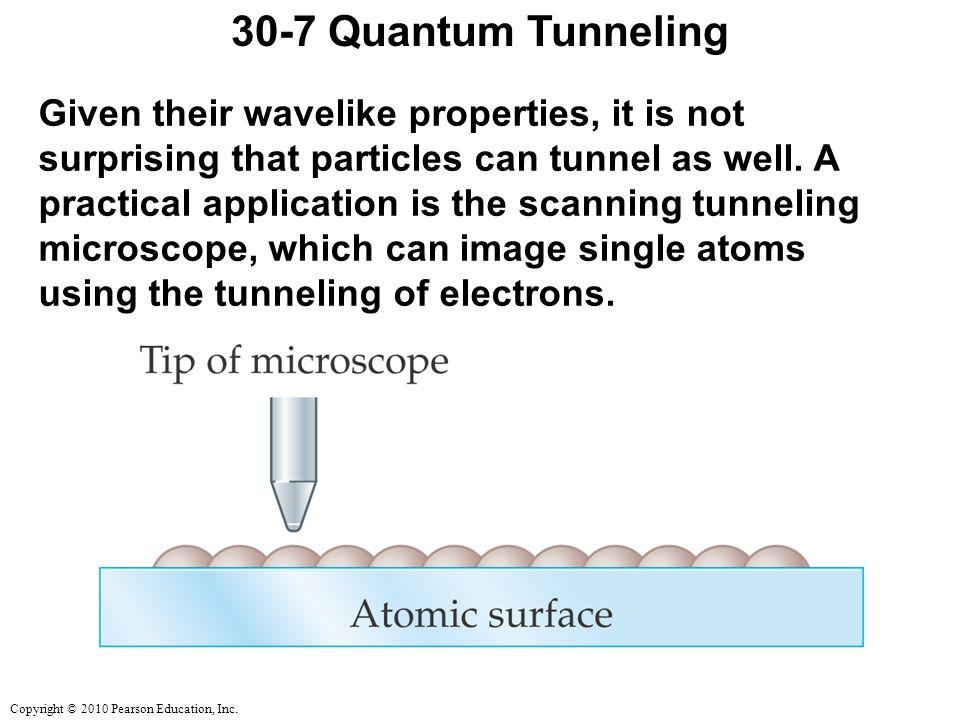 30-7 Quantum Tunneling