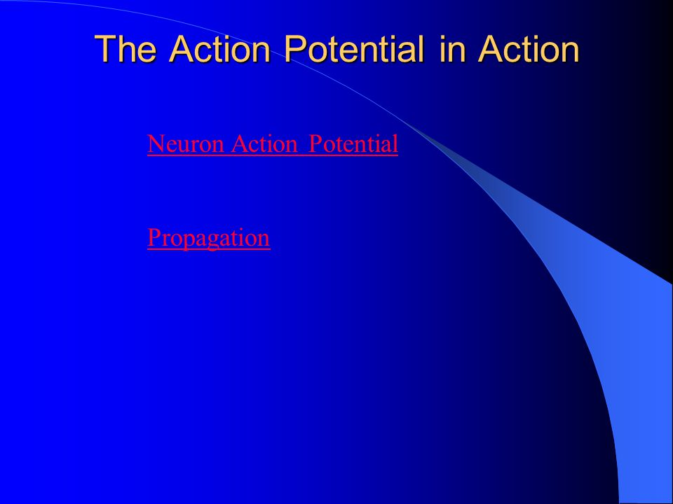 The Action Potential in Action