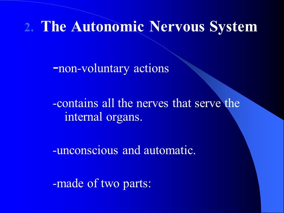 -non-voluntary actions