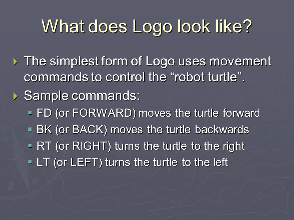 What does Logo look like