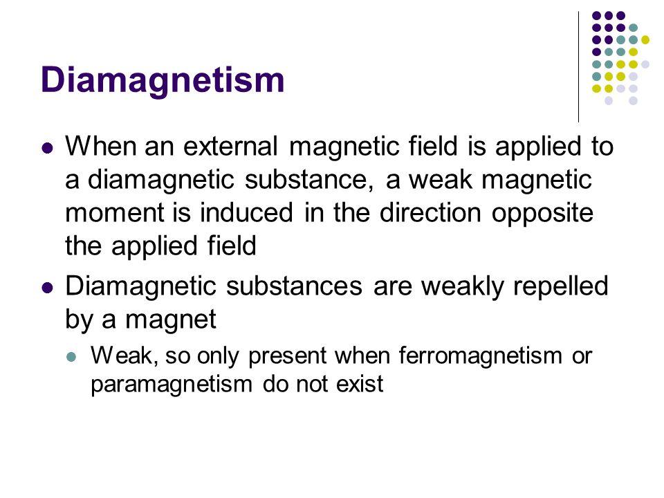 Diamagnetism