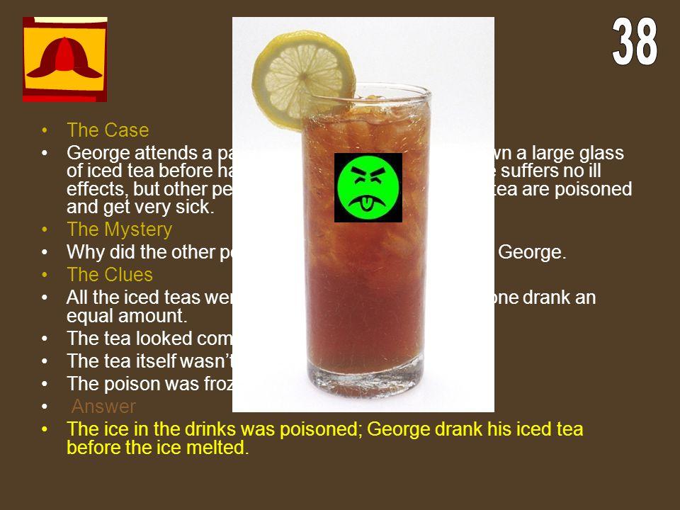Terrible Tea 38. The Case.