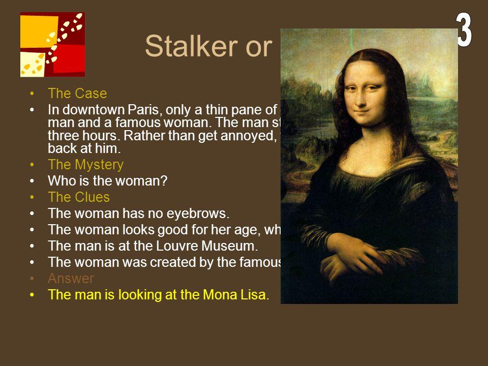 Stalker or Not 3. The Case.