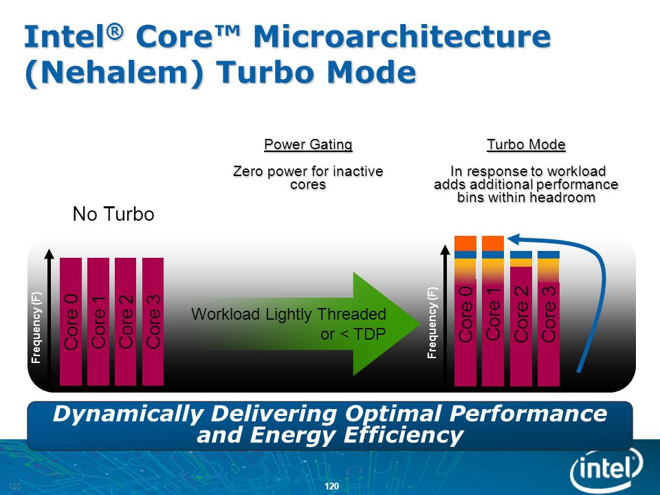 Dynamically Delivering Optimal Performance and Energy Efficiency