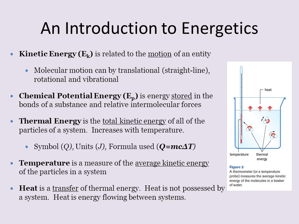 An Introduction to Energetics