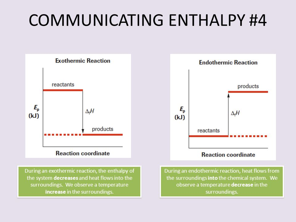 COMMUNICATING ENTHALPY #4