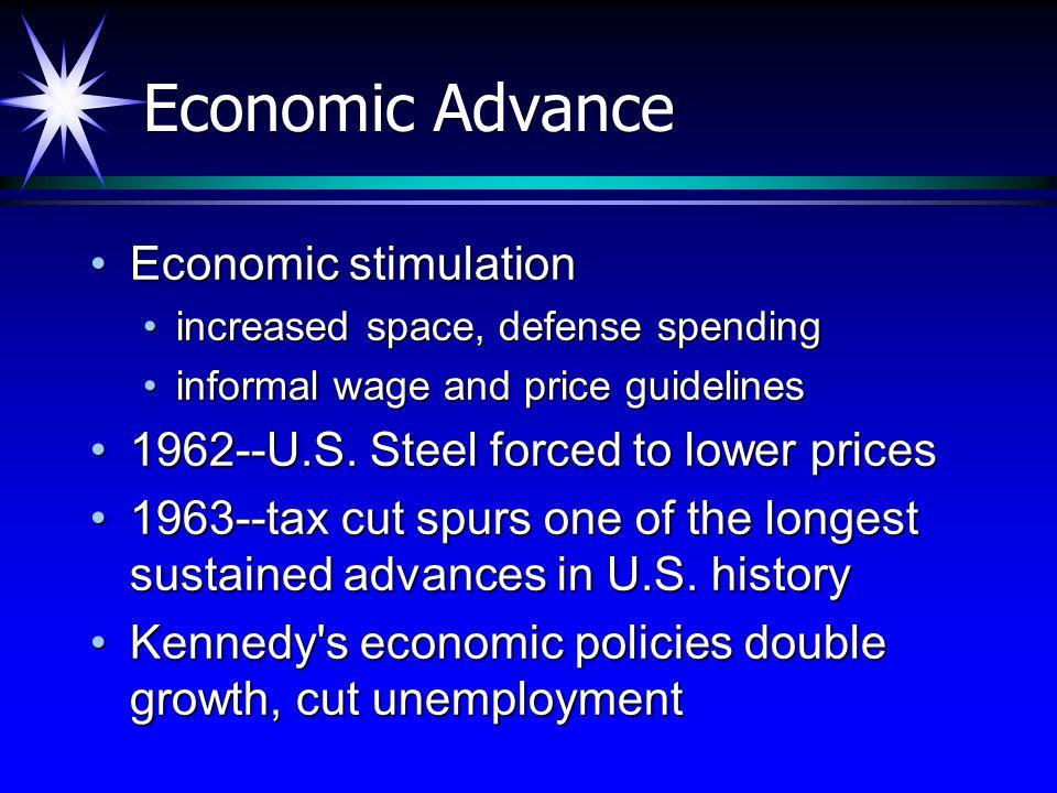 Economic Advance Economic stimulation