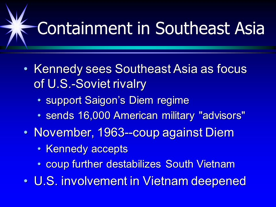 Containment in Southeast Asia