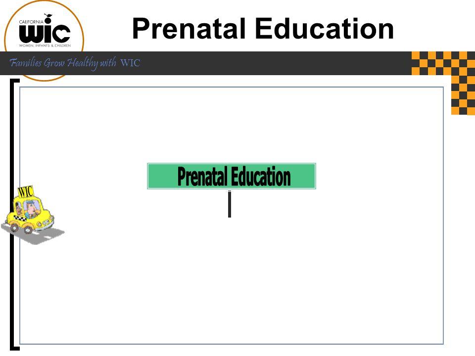 Prenatal Education Prenatal Education