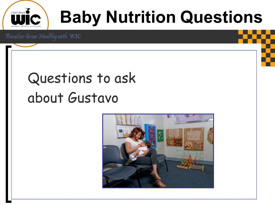 Baby Nutrition Questions