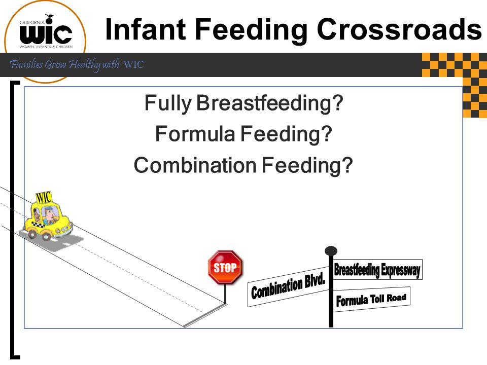 Infant Feeding Crossroads