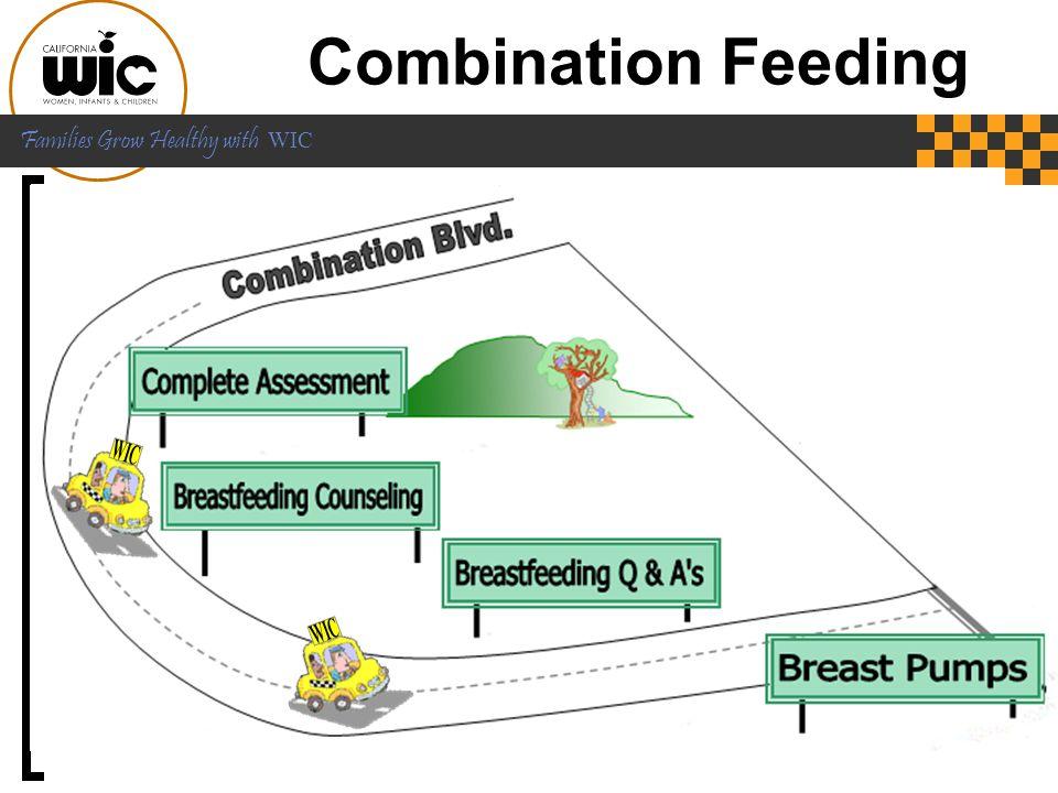 Combination Feeding WIC.