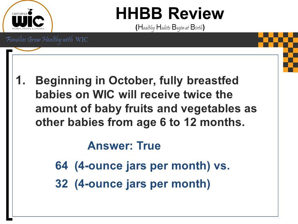 HHBB Review (Healthy Habits Begin at Birth)