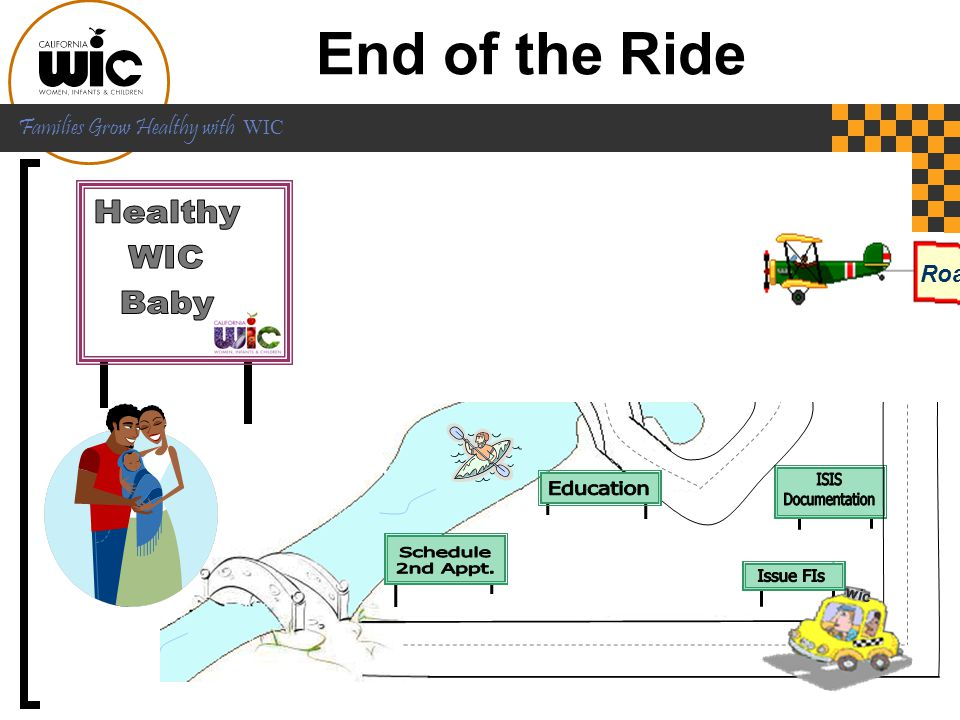 End of the Ride Healthy WIC Baby Roadmap to Infant Feeding