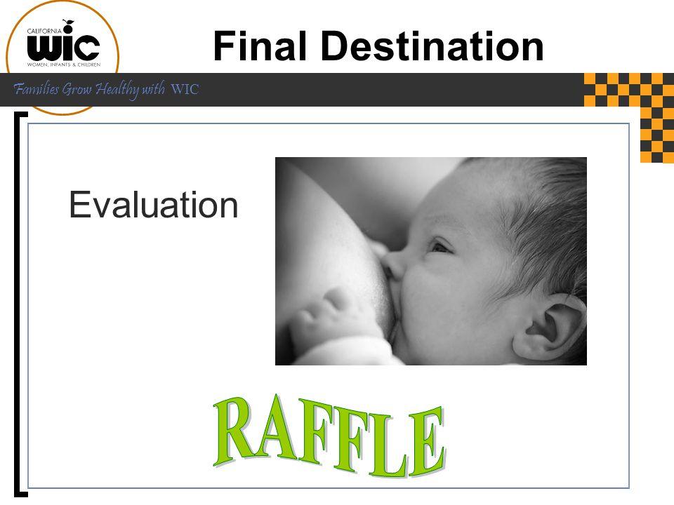 Final Destination Evaluation RAFFLE