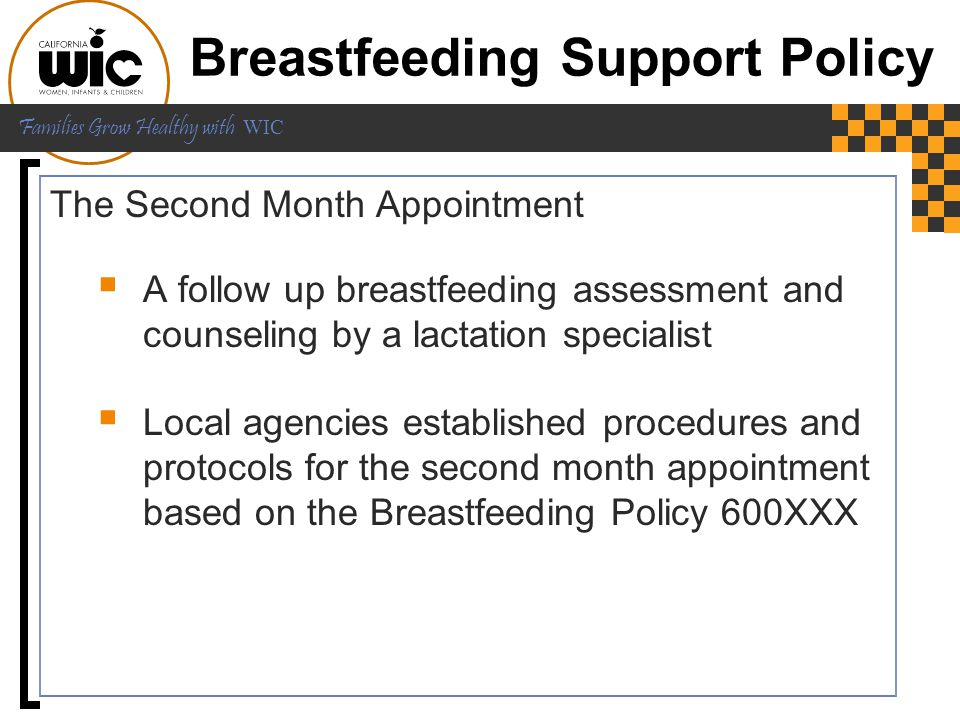 Breastfeeding Support Policy