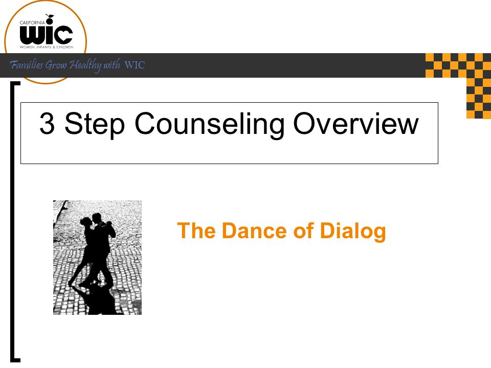 3 Step Counseling Overview