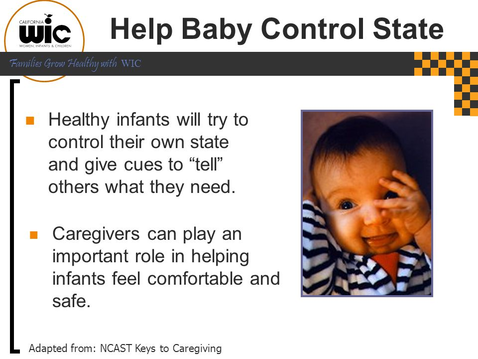 Help Baby Control State