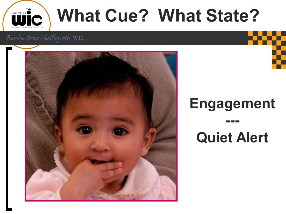 What Cue What State Engagement --- Quiet Alert