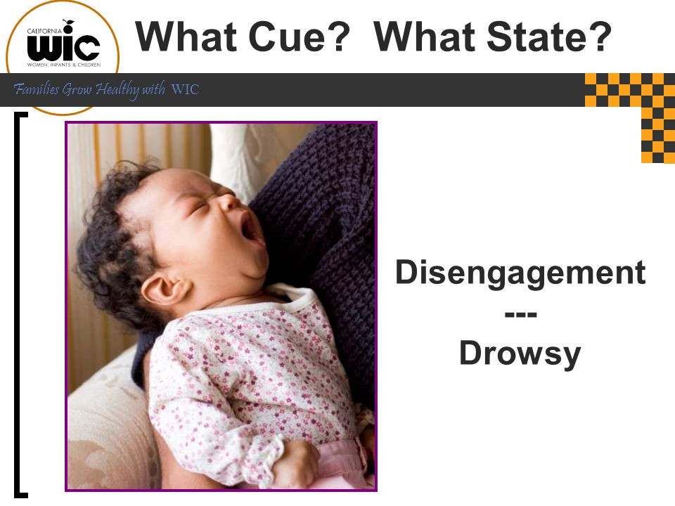 What Cue What State Disengagement --- Drowsy