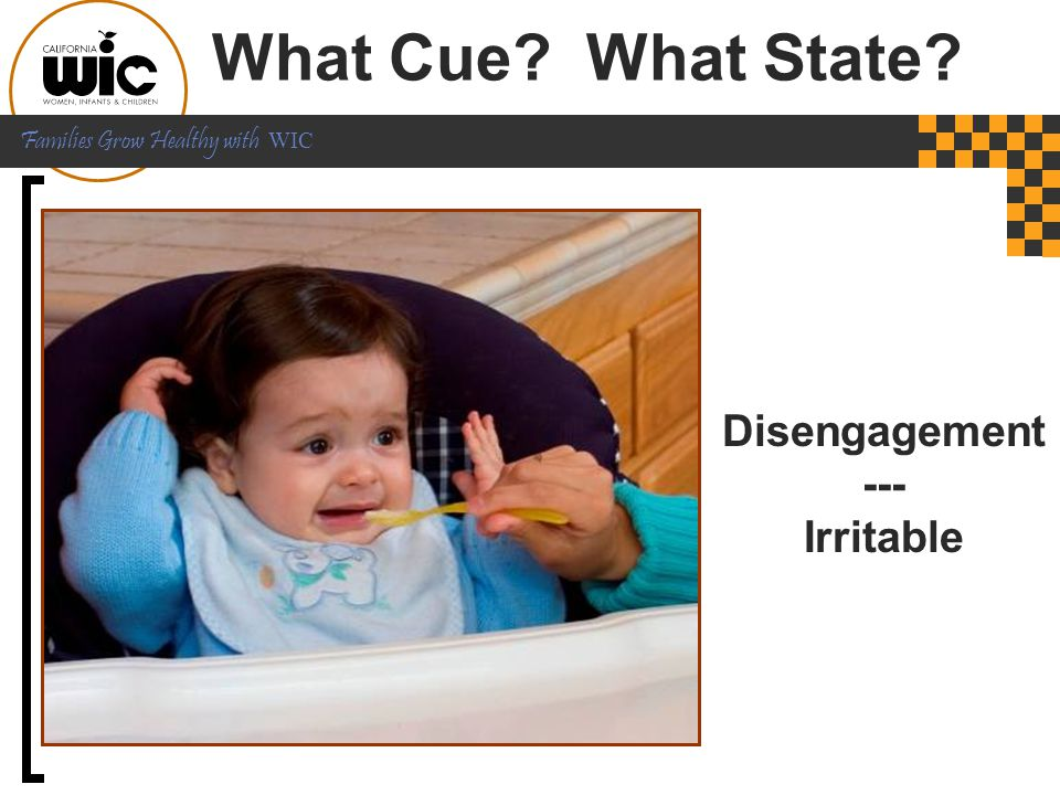 What Cue What State Disengagement --- Irritable