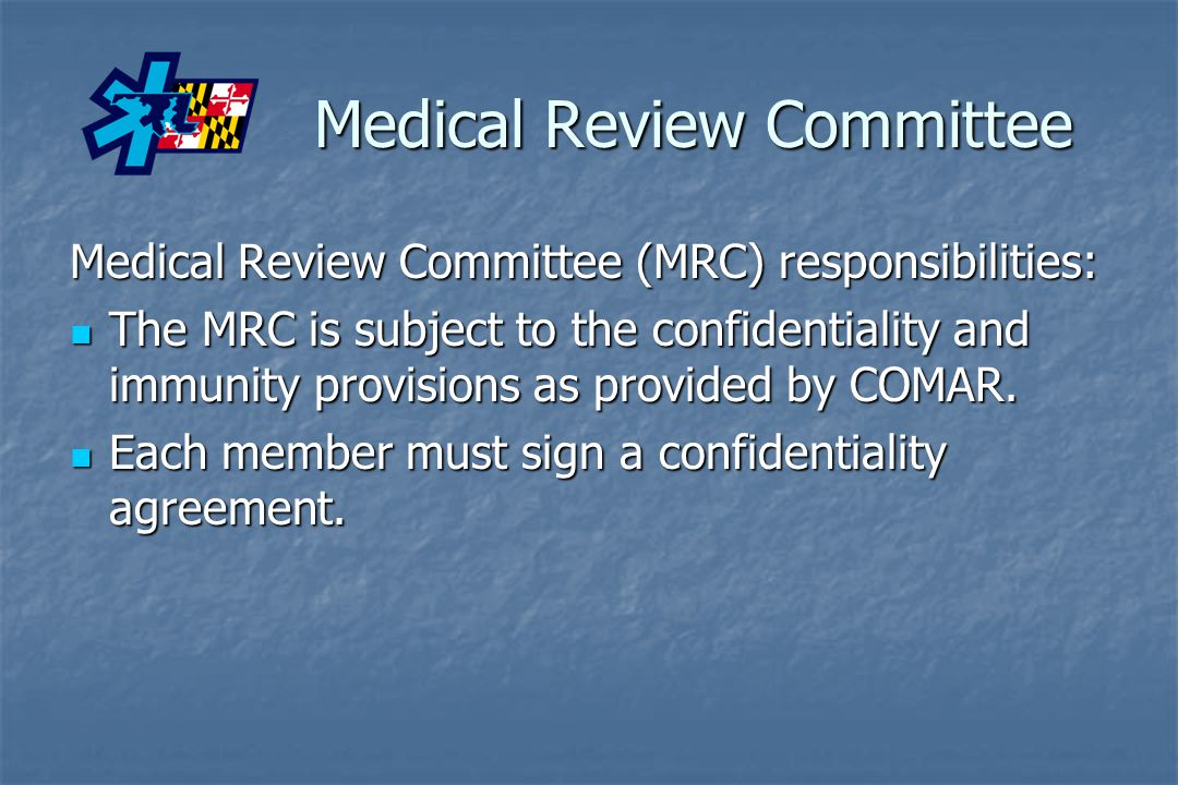 Medical Review Committee