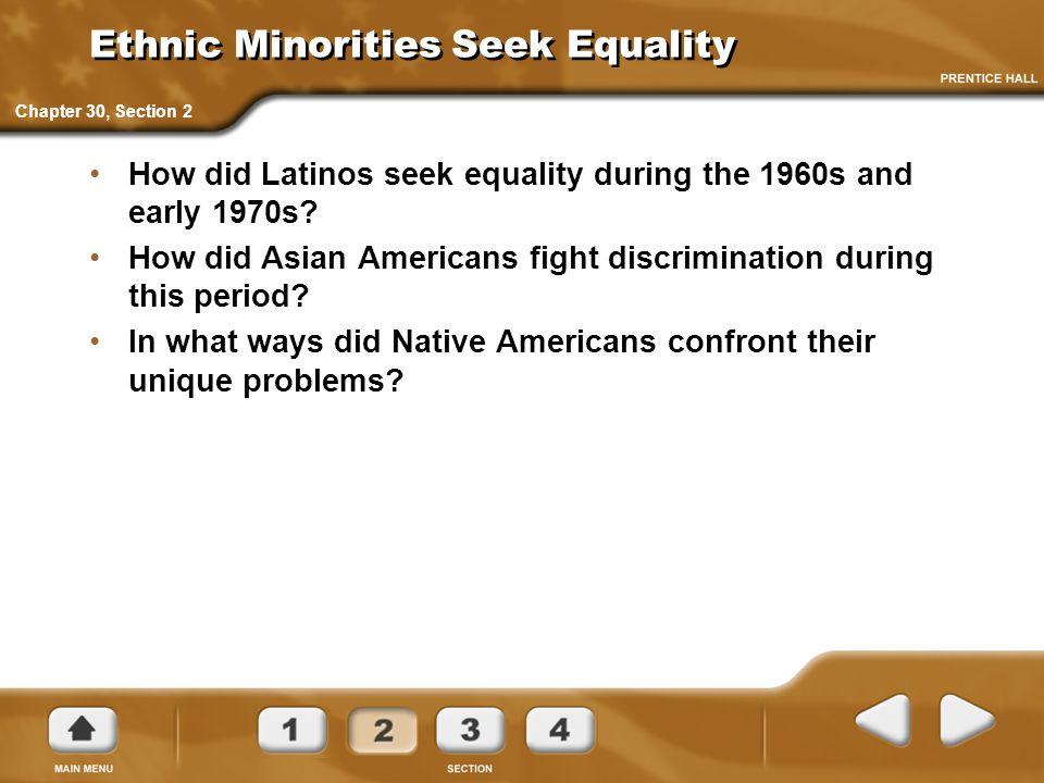 Ethnic Minorities Seek Equality