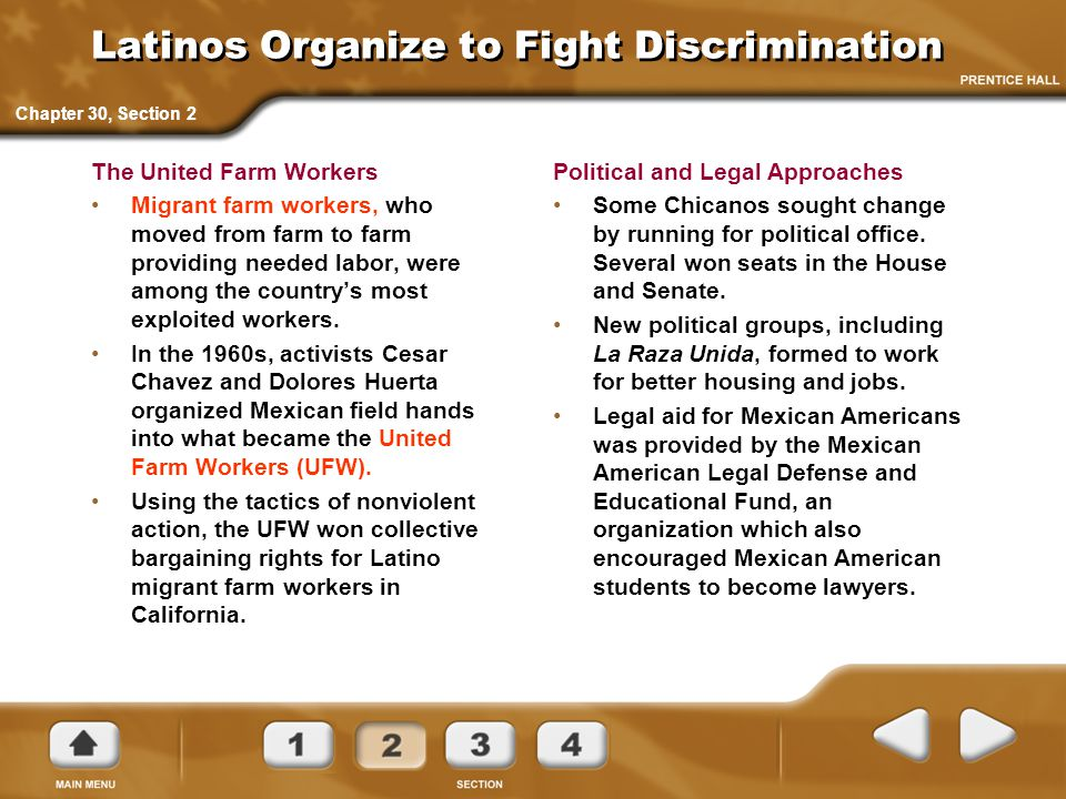 Latinos Organize to Fight Discrimination